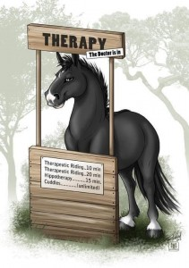 IIA about us-therapy horse